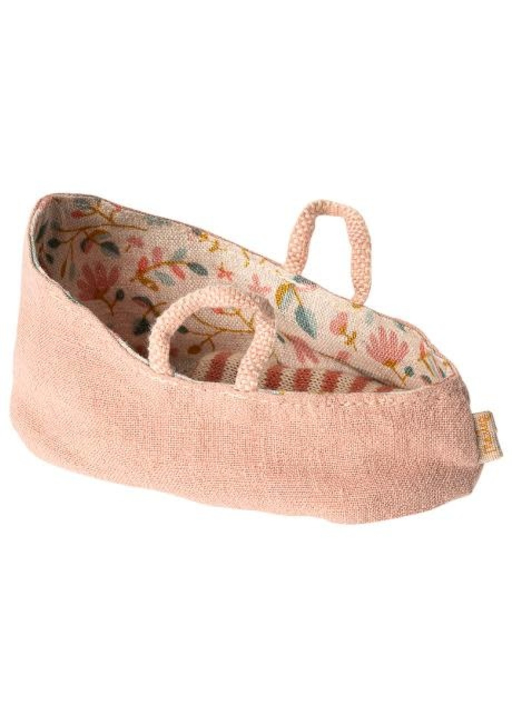 Maileg My Size - Carry Cot - Misty Rose