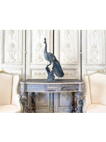 Antique Tuscan Painted Console with Ornate Legs