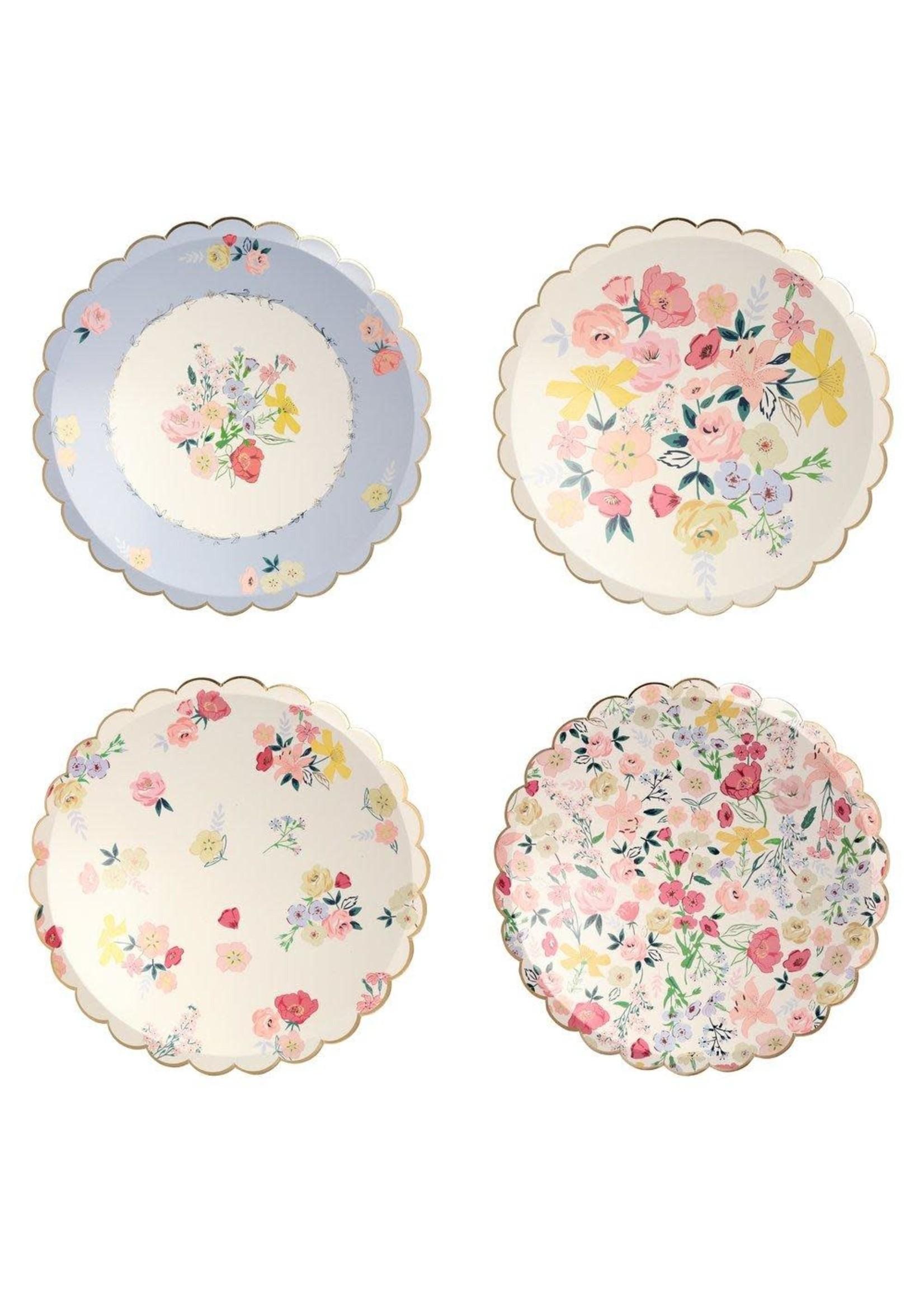 Meri Meri Paper Plates Dinner - English Garden