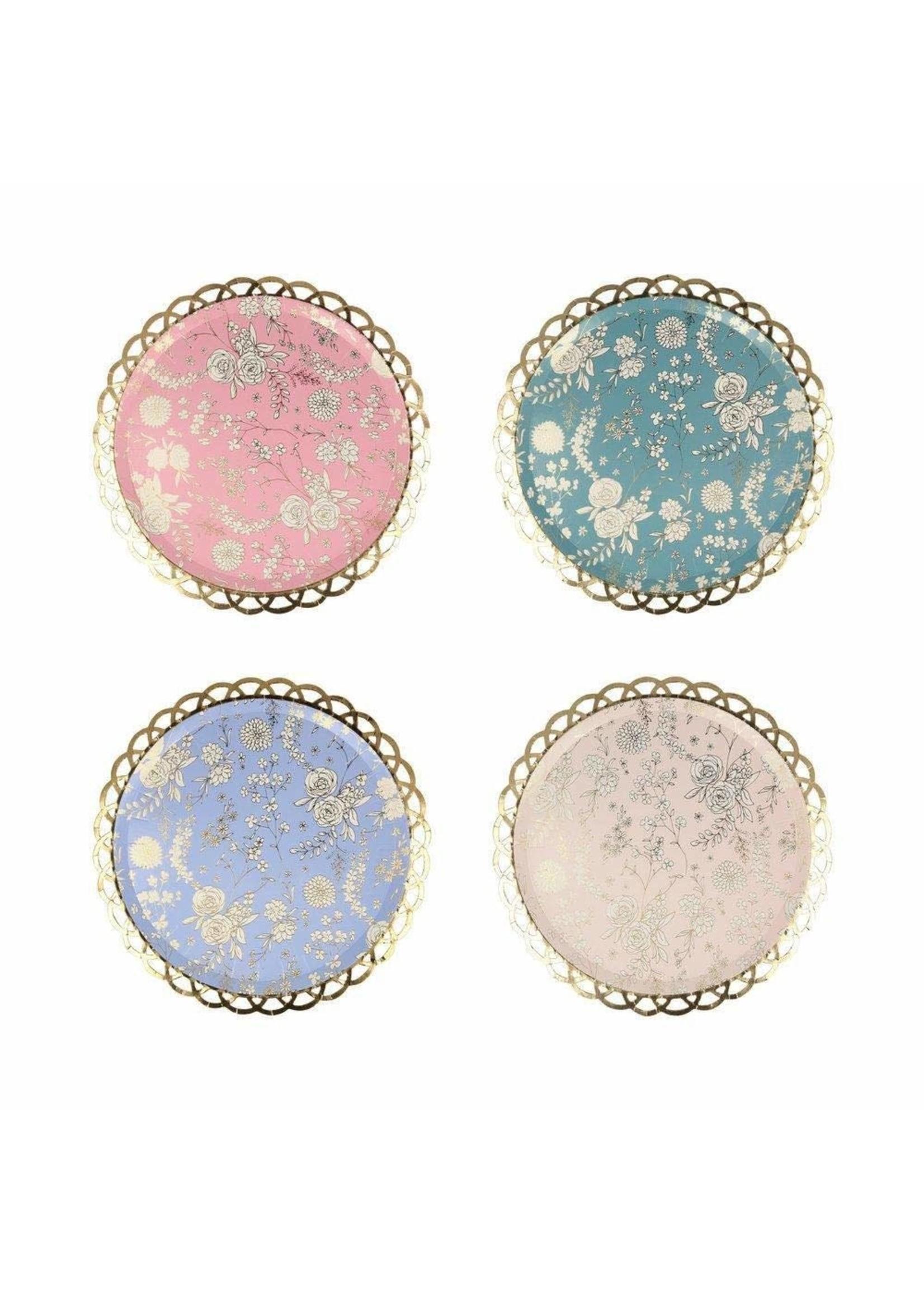 Meri Meri Paper Plates - English Garden Lace