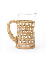 Amanda Lindroth Island Wrapped Pitcher Small - Natural