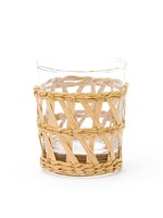 Amanda Lindroth Island Wrapped Tumbler Glass - Natural