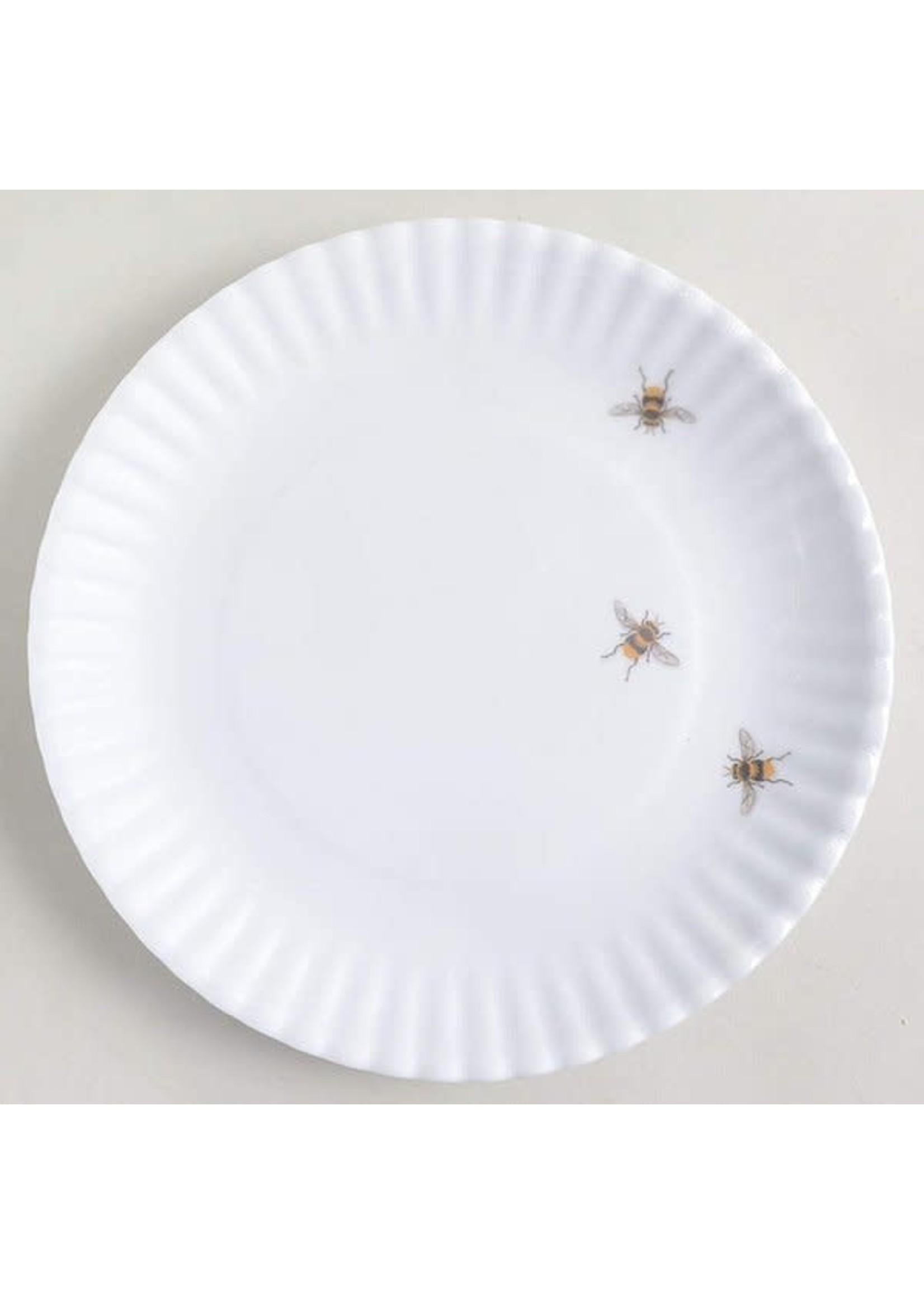 Melamine Plate - Bee (Set of4)