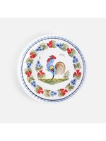 Melamine Plate - Rooster (Set of 4)