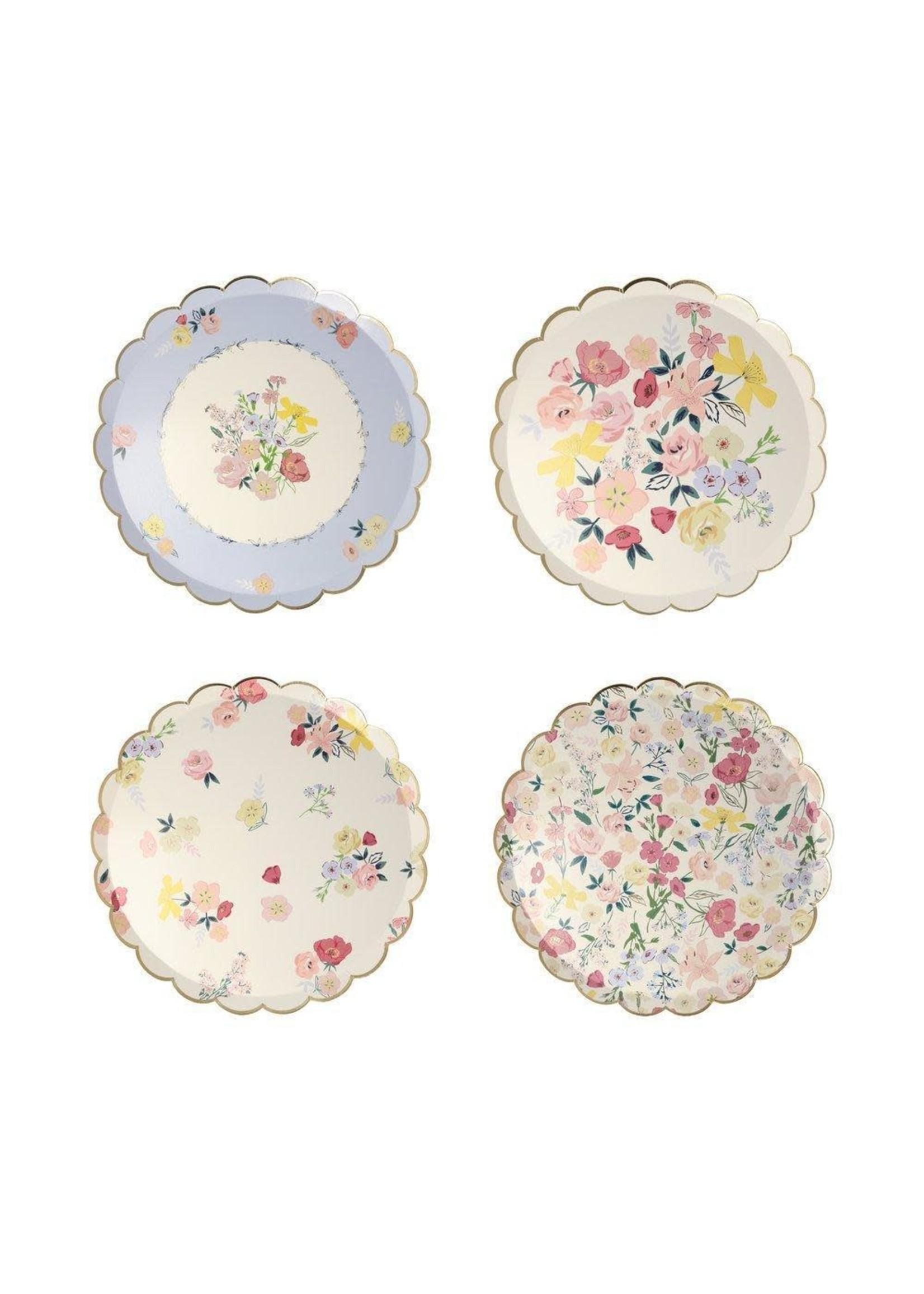 Meri Meri Paper Side Plates - English Garden
