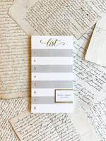 Notepad - Grey List