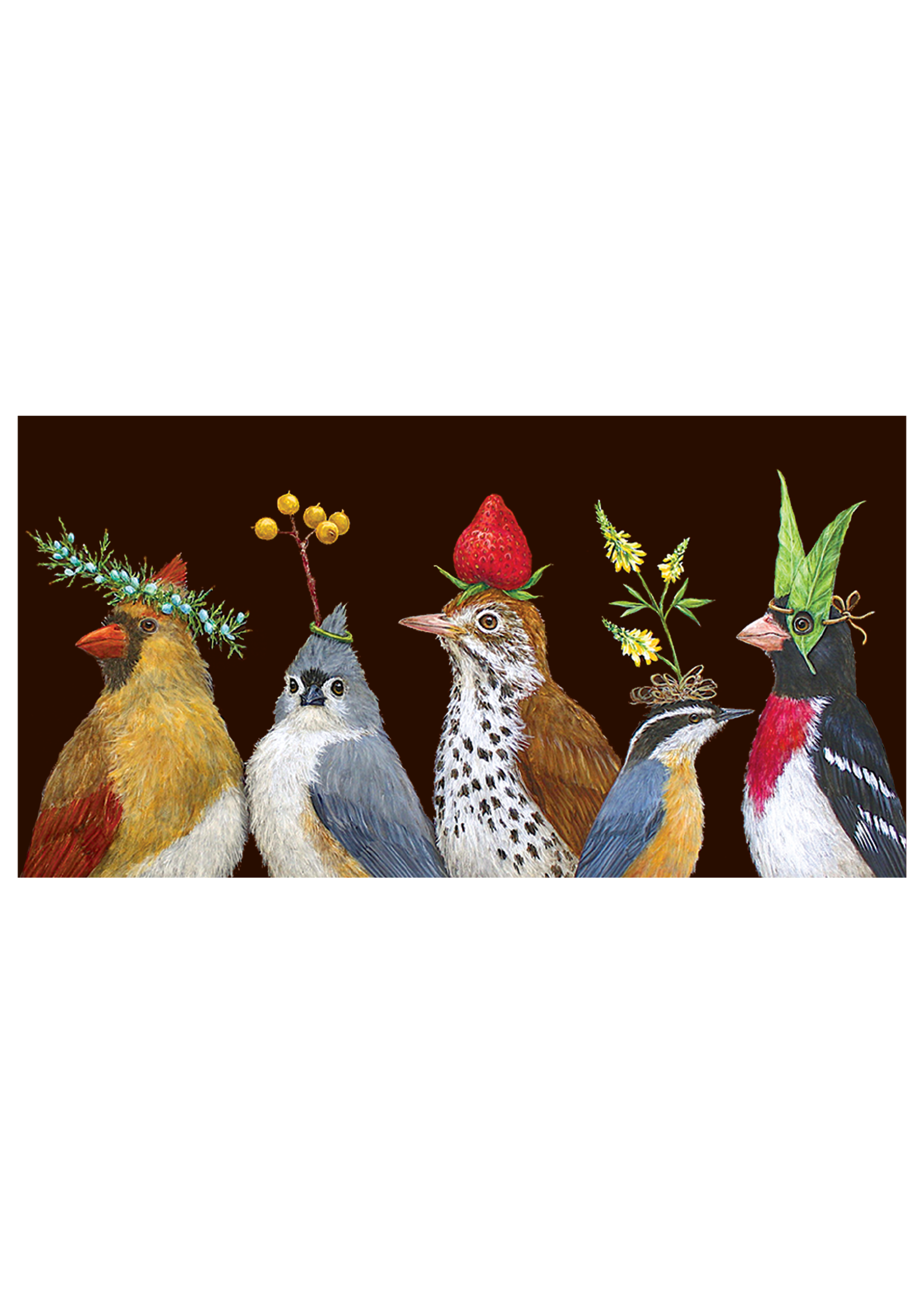 Hester & Cook Card - Party at the Feeder