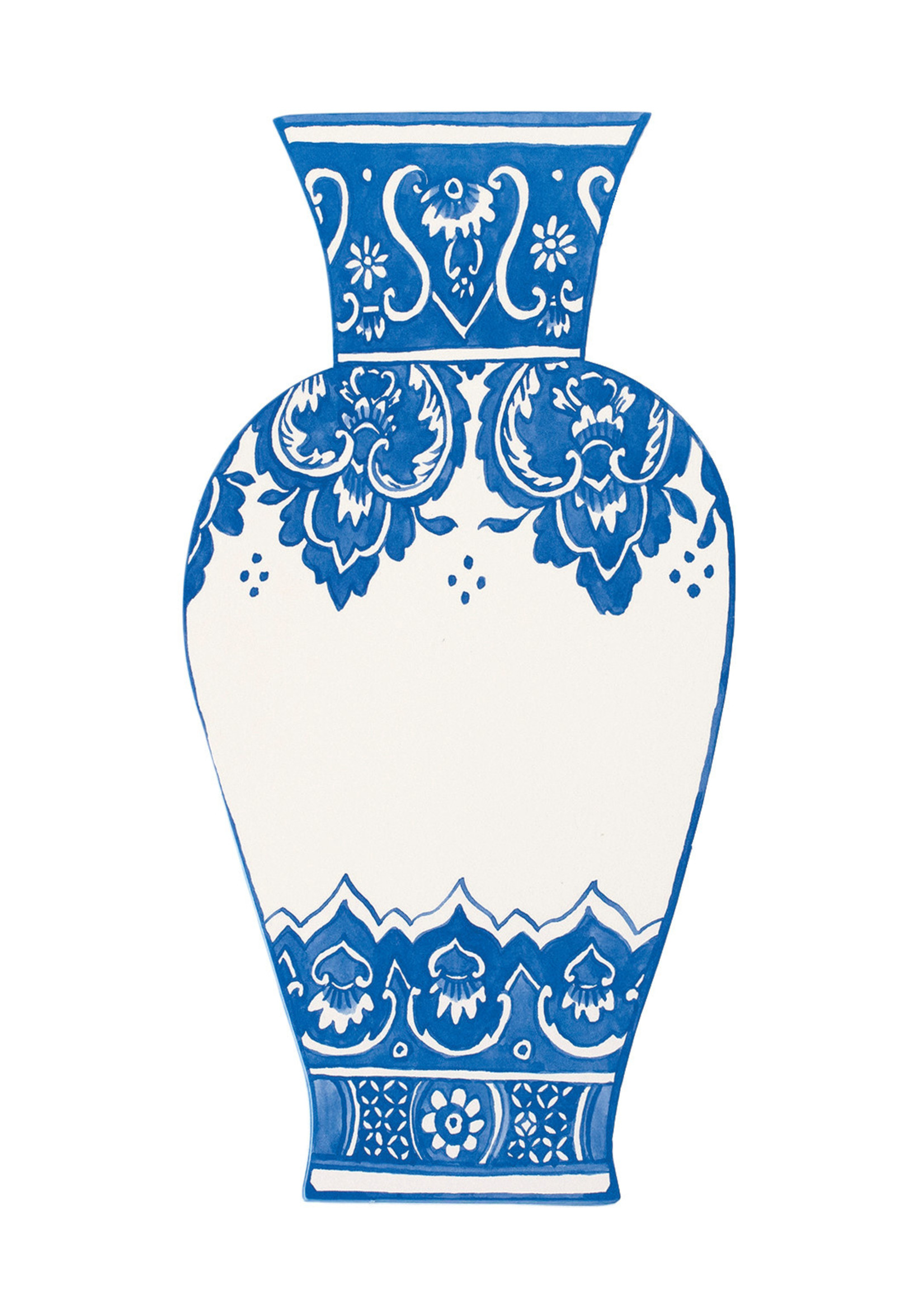 Hester & Cook Table Accents - China Blue Vase (pack of 12)