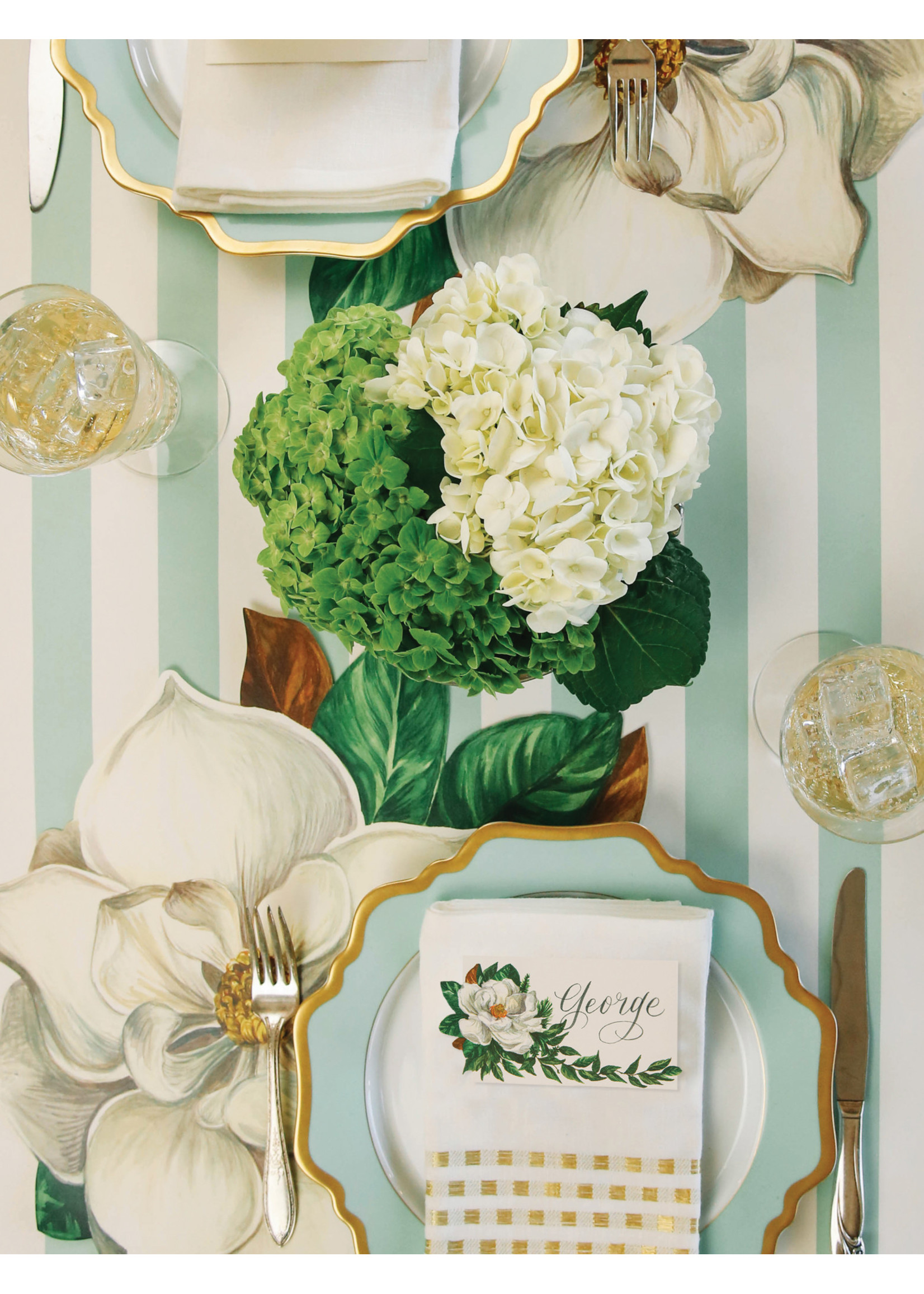 Hester & Cook Paper Placemats - Magnolia (12 sheets)
