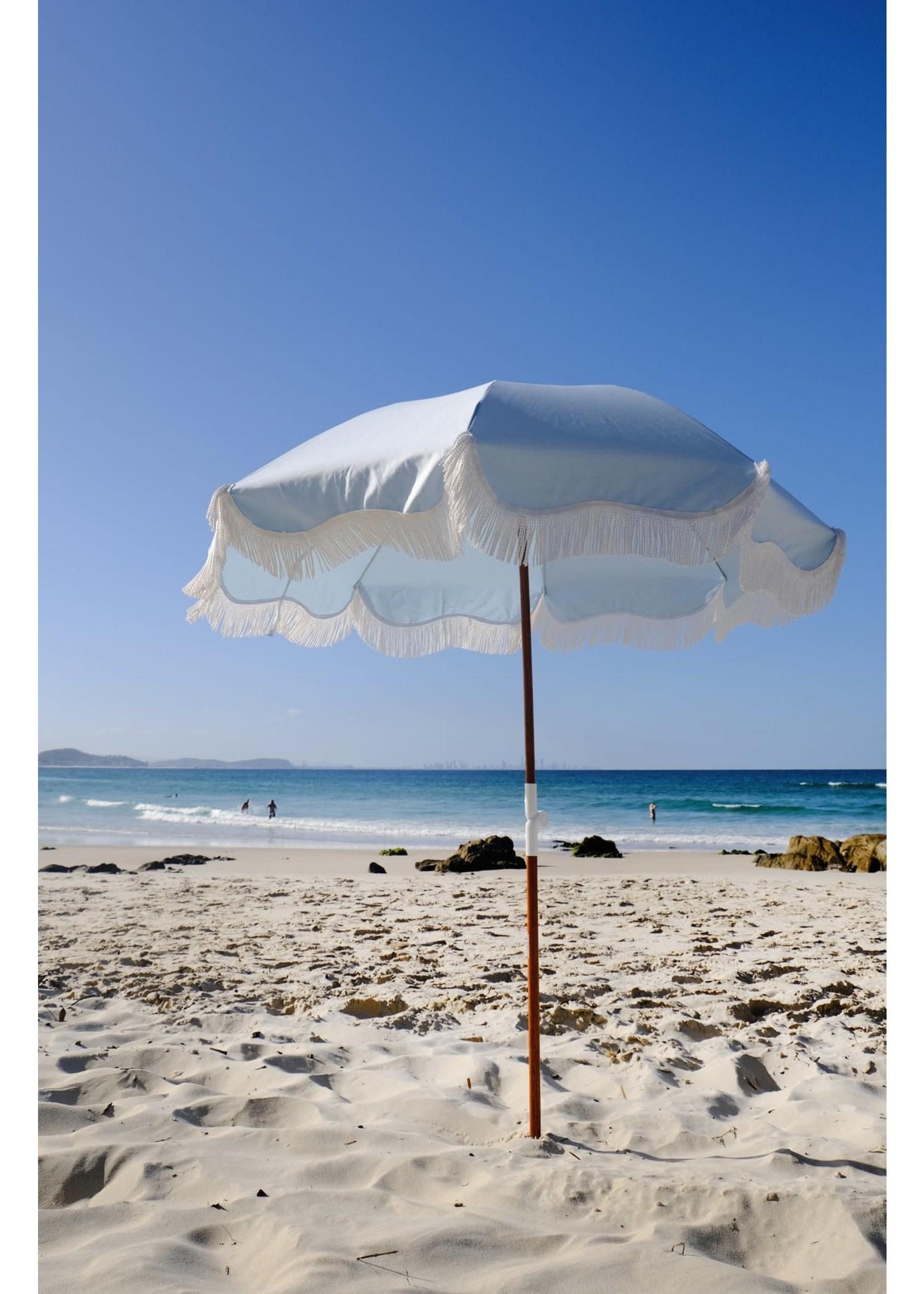 Holiday Beach Umbrella - Santorini Blue