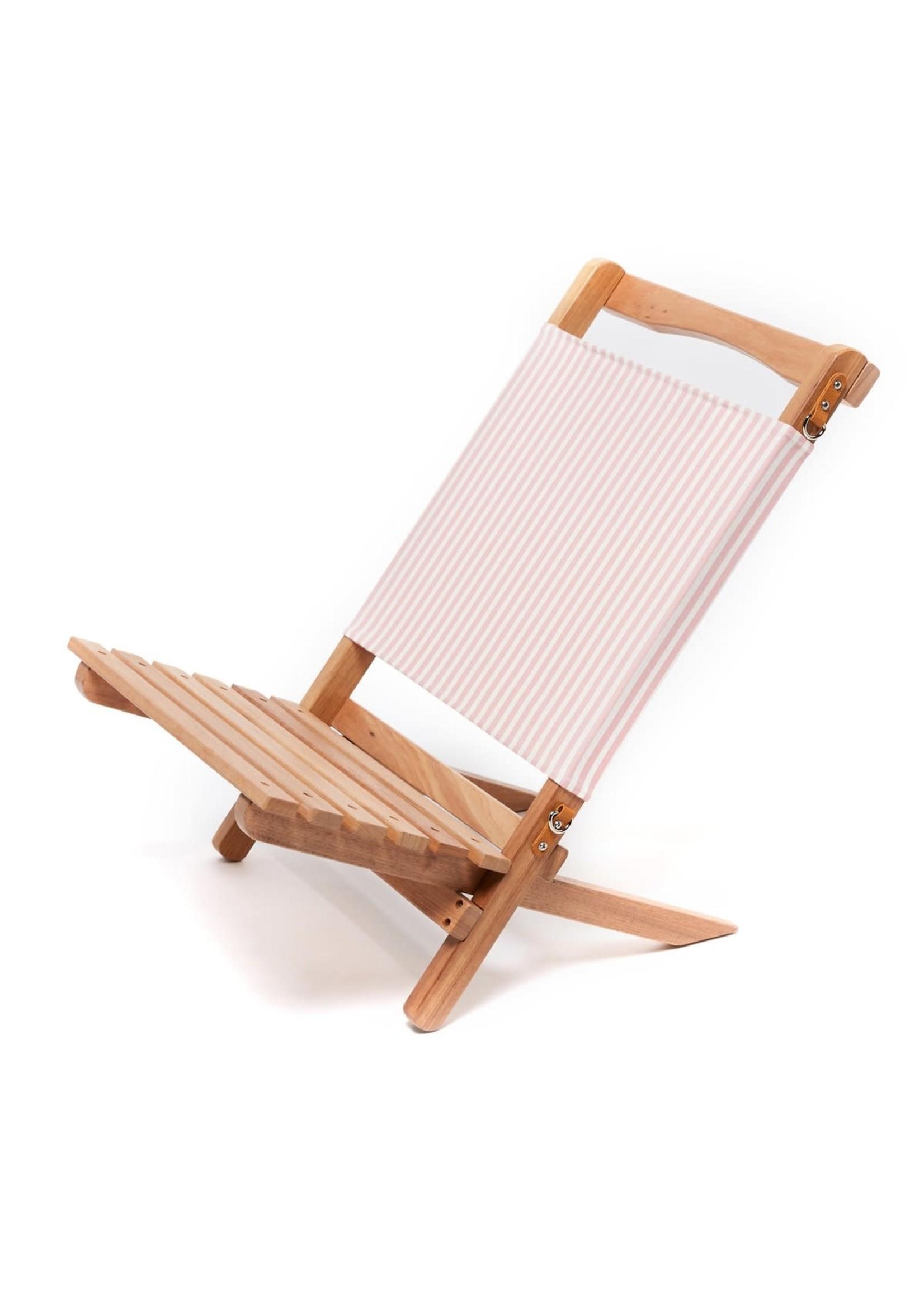 2-Piece Chair - Laurens Pink Stripe