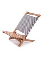 2-Piece Chair - Laurens Navy Stripe
