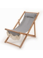 Sling Chair - Laurens Navy Stripe