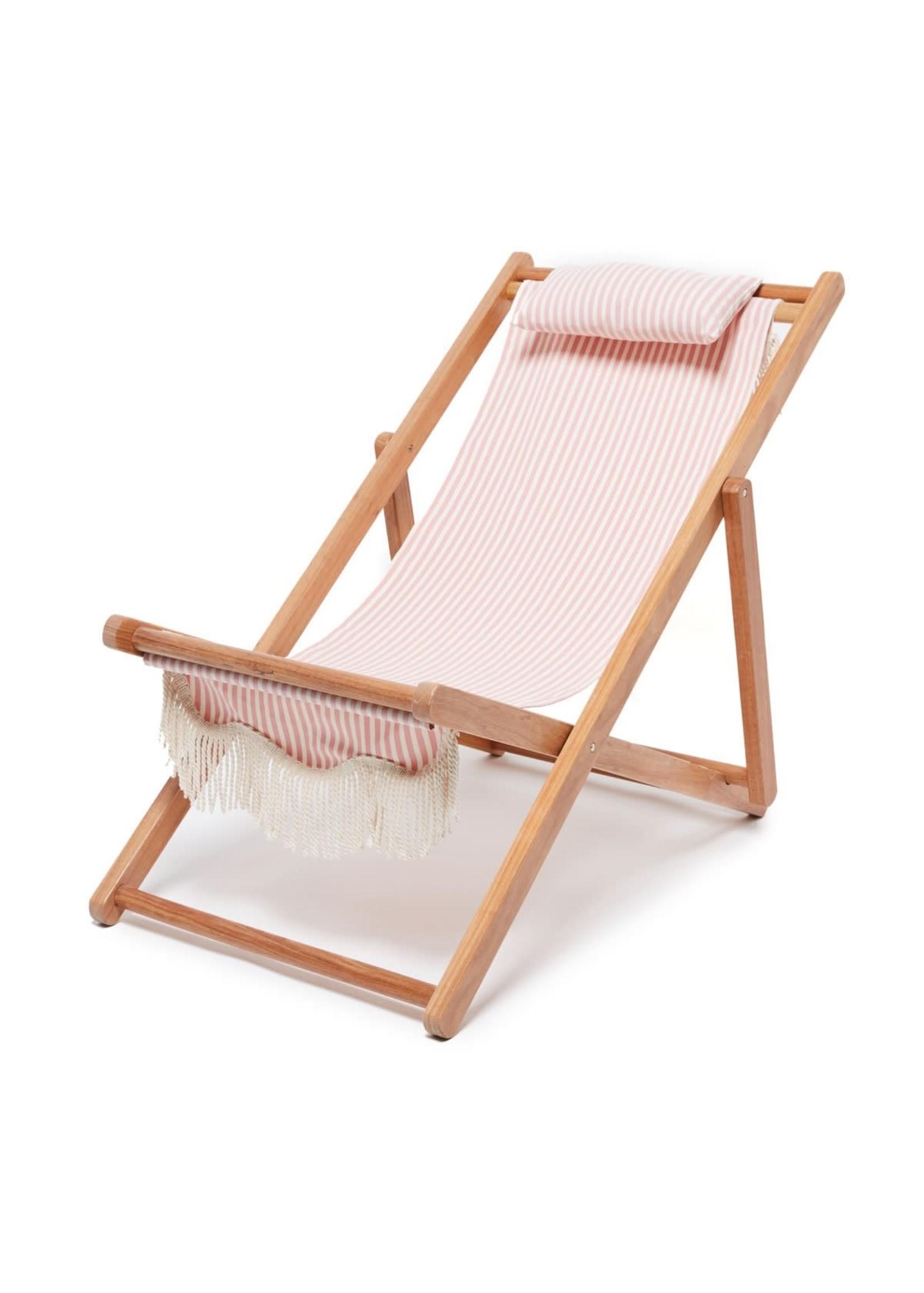 Sling Chair - Laurens Pink Stripe