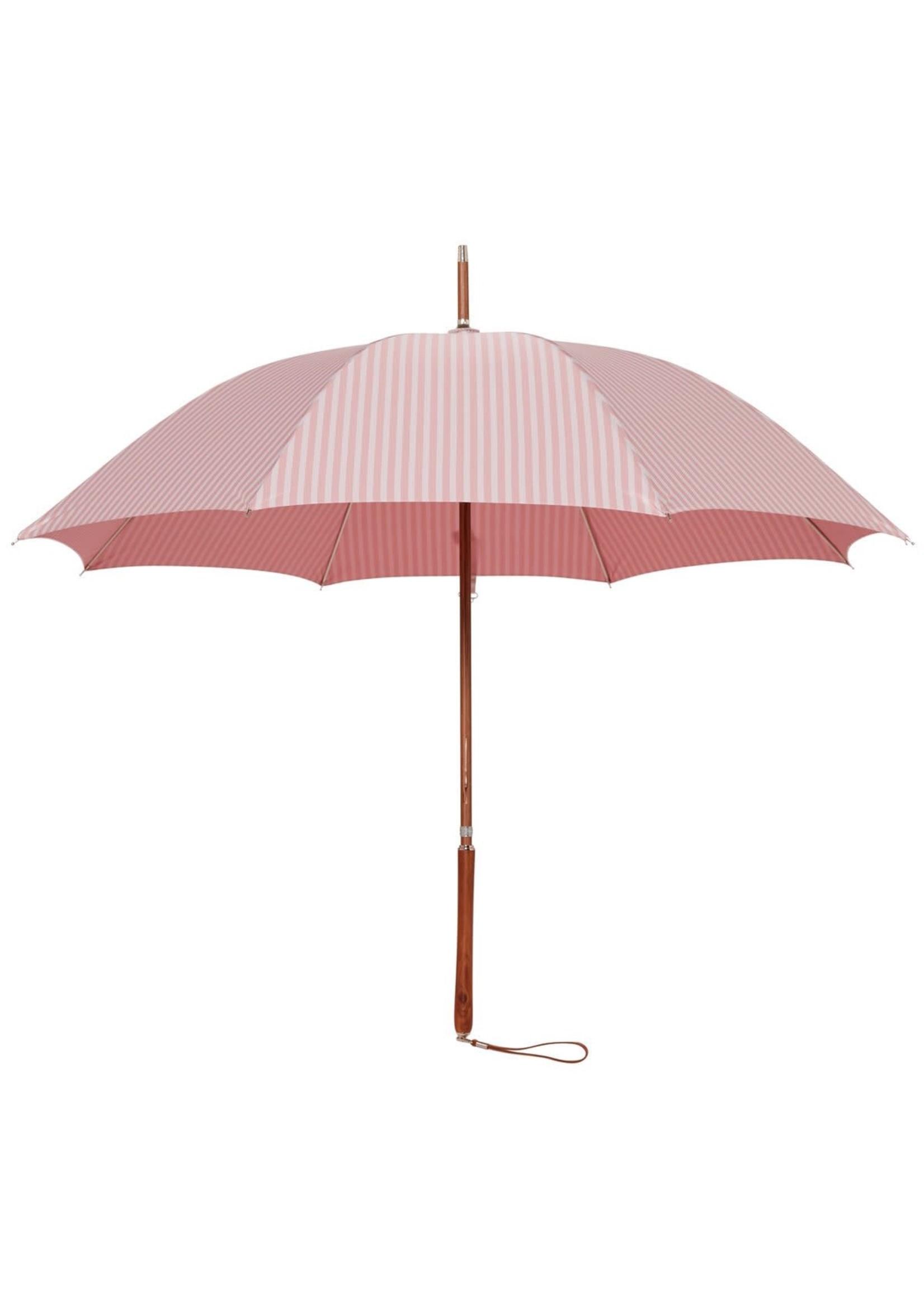 Rain Umbrella - Laurens Pink Stripe