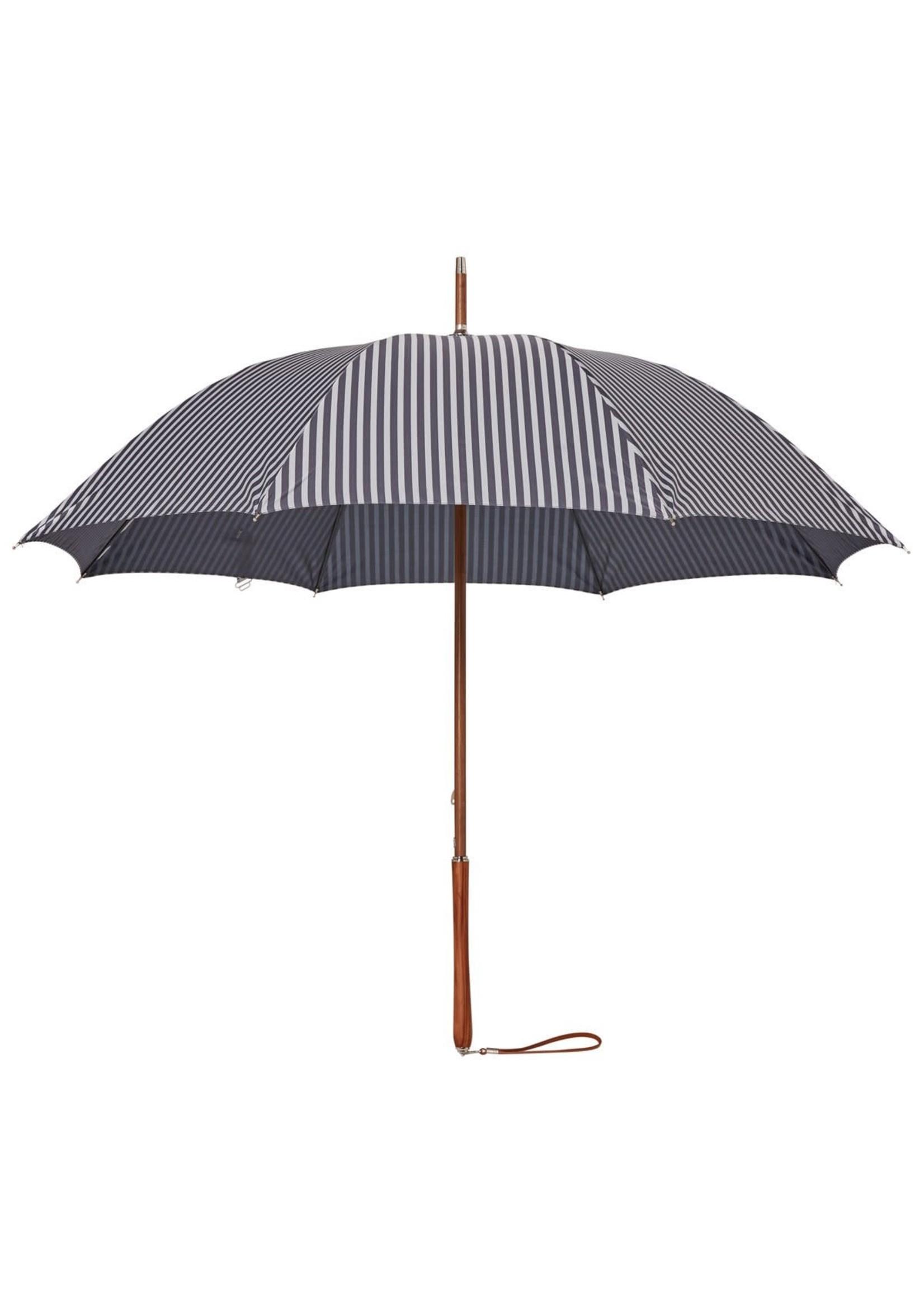 Rain Umbrella - Laurens Navy Stripe