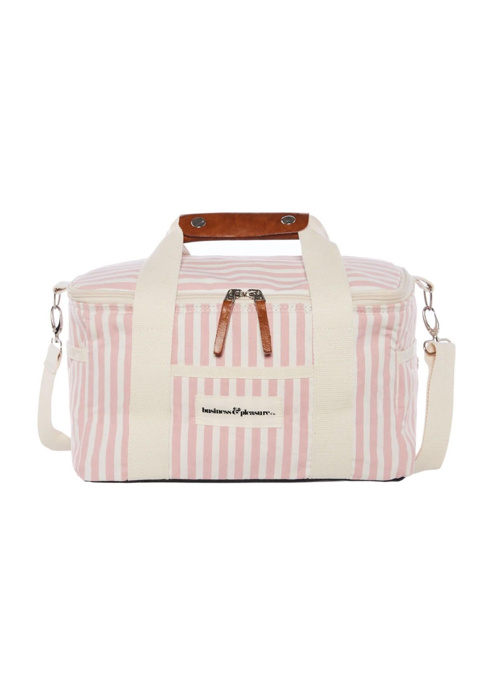 Premium Cooler - Laurens Pink Stripe