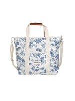 Cooler Tote Bag - Chinoiserie Blue