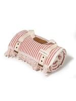 Beach Blanket - Laurens Pink Stripe