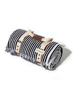 Beach Blanket - Laurens Navy Stripe
