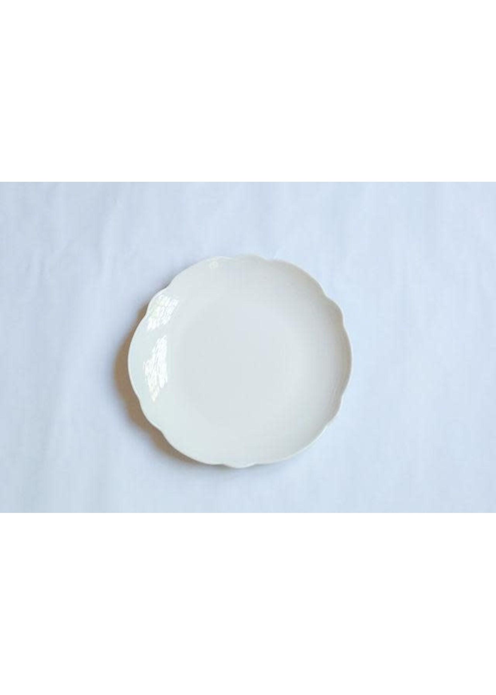 Relish Melamine - Scalloped Dinner Plate - Cream