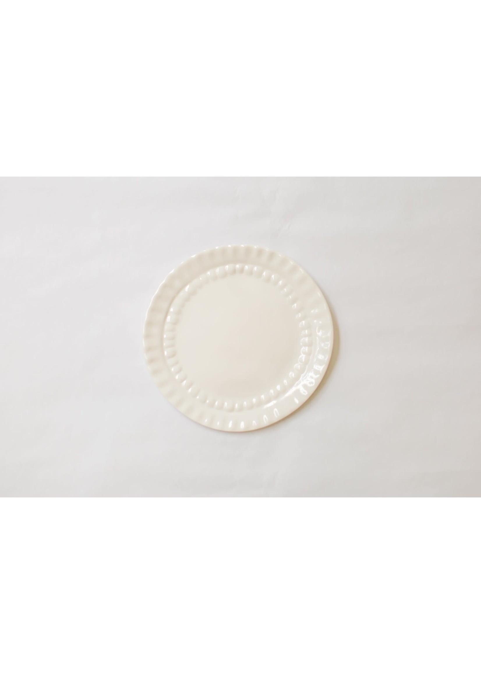 Relish Melamine - Canapé Plate Set - Cream