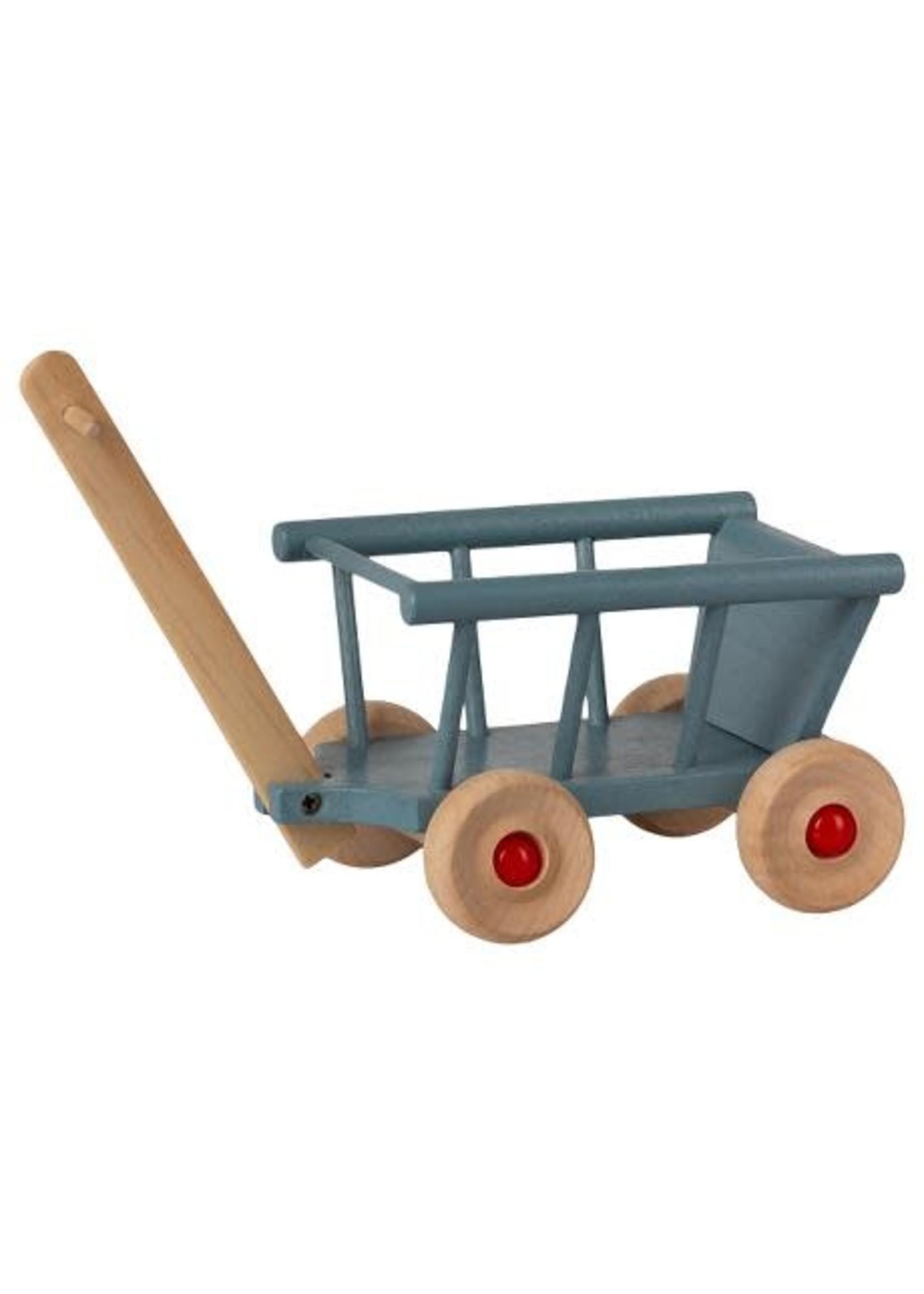 Maileg Wagon - Blue
