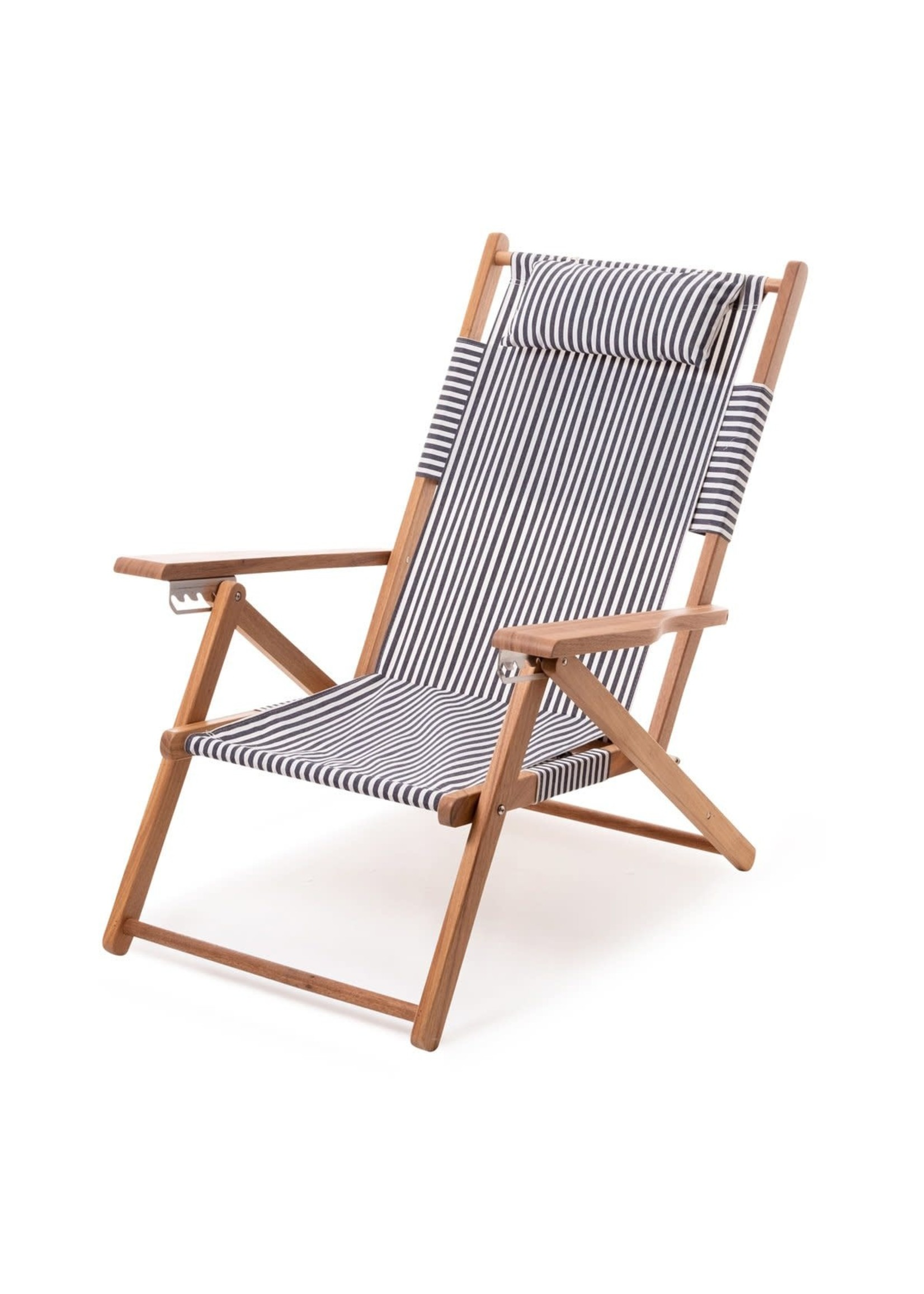 Tommy Chair - Laurens Navy Stripe