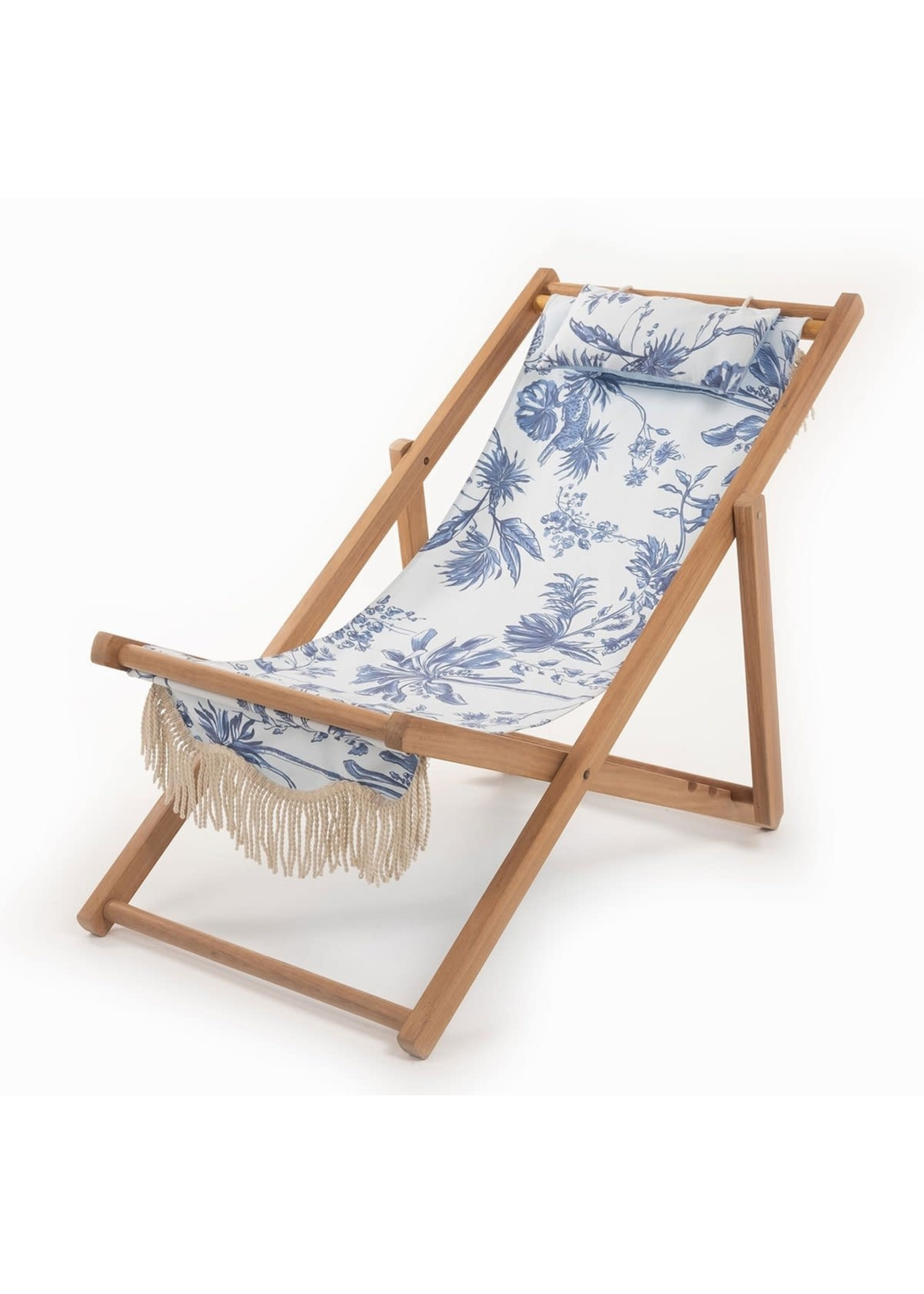 Sling Chair - Chinoiserie Blue