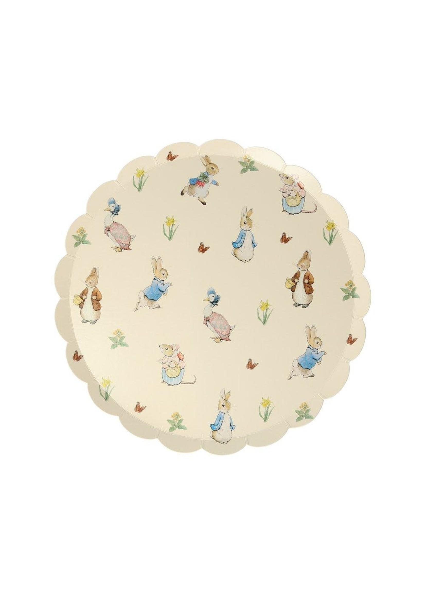 Meri Meri Paper Plates - Peter Rabbit & Friends Side Plate