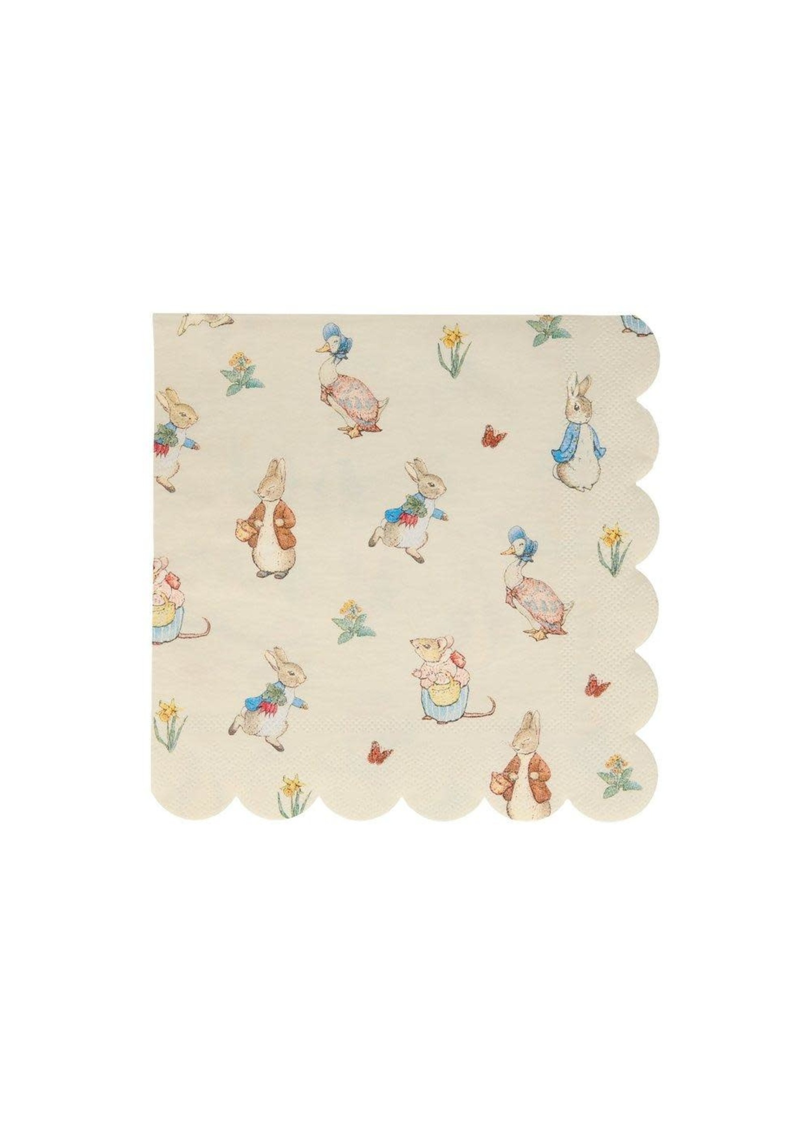 Meri Meri Paper Napkin - Peter Rabbit & Friends Large