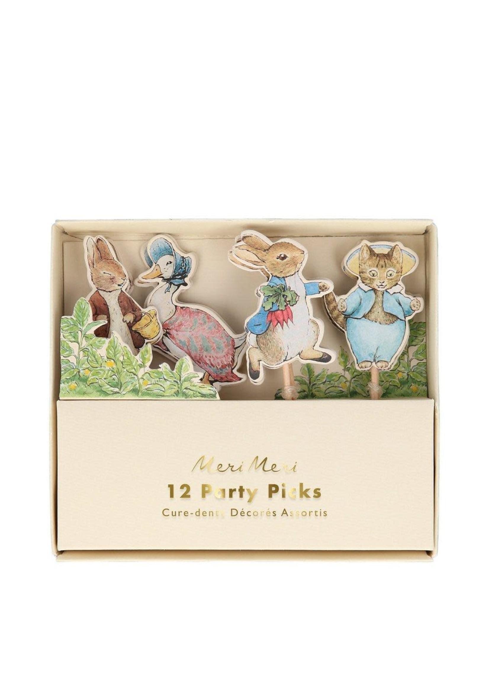 Meri Meri Peter Rabbit & Friends Party Picks