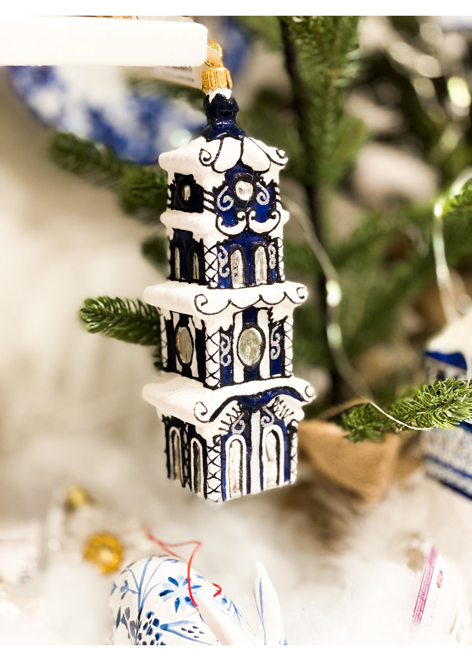 Jingle Nog Ornament - Garden Folly