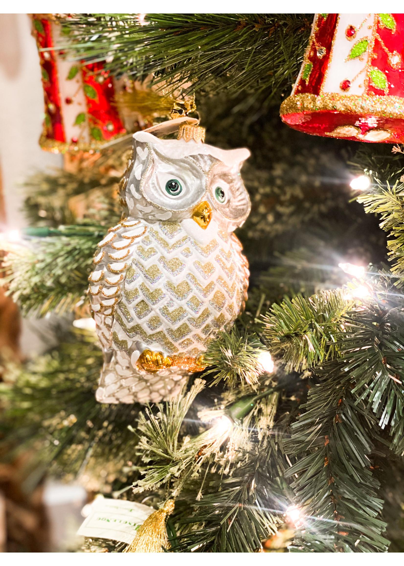 Jingle Nog Ornament - Jingle Whoo