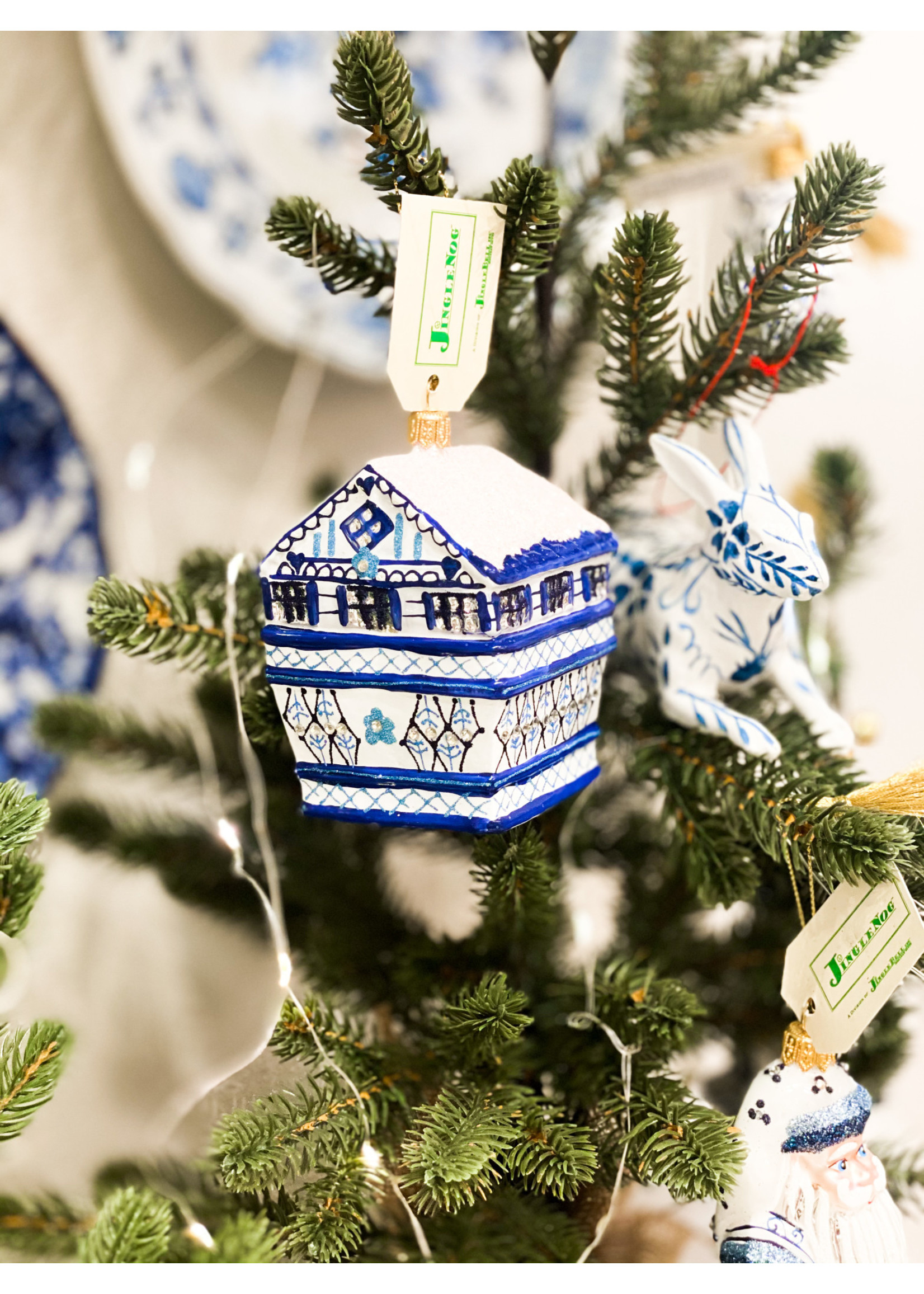 Jingle Nog Ornament - Hansel Time