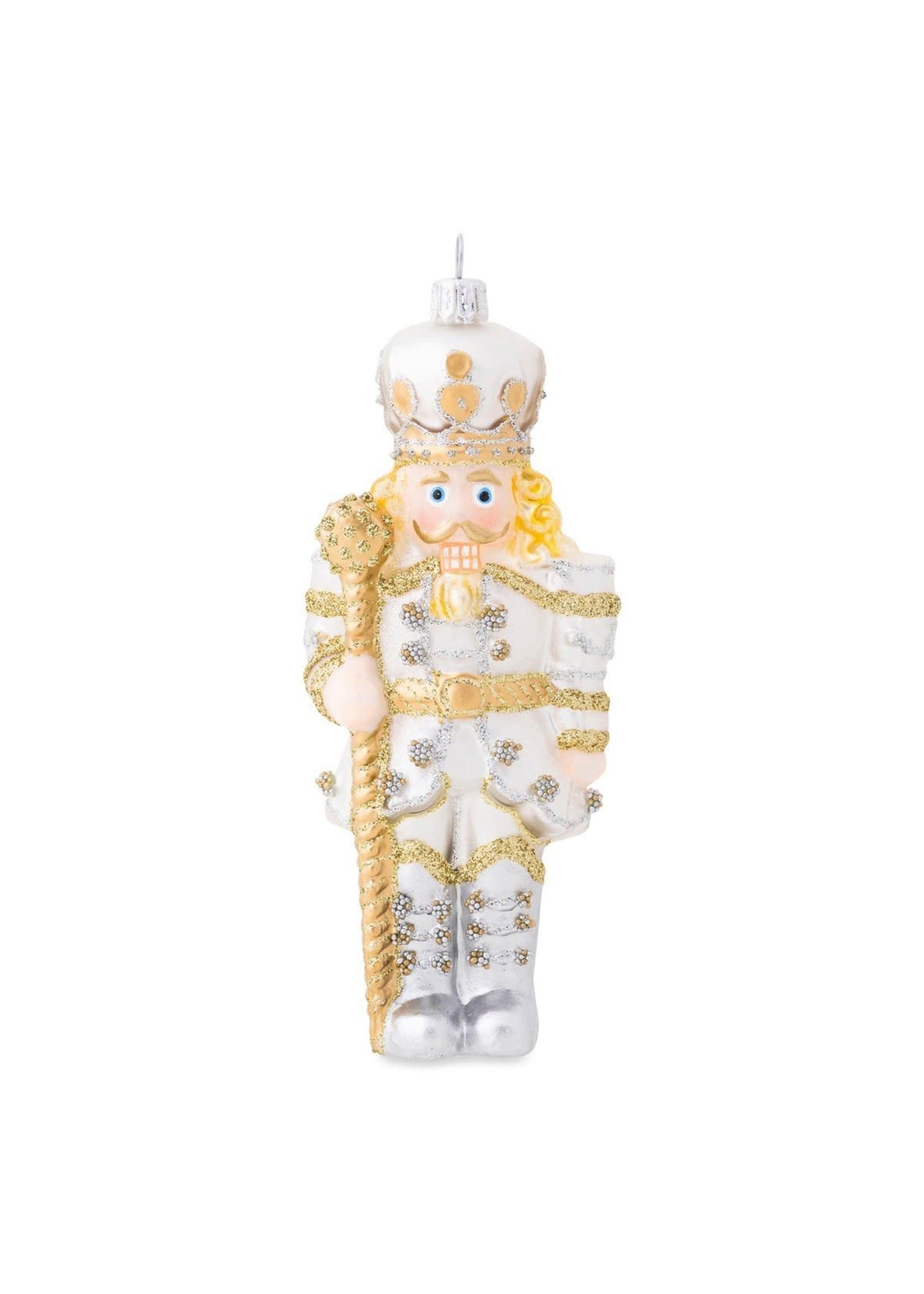 Juliska Ornament - Gold & Silver Nutcracker