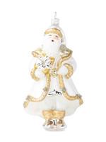 Juliska Ornament - Gold & Silver Santa