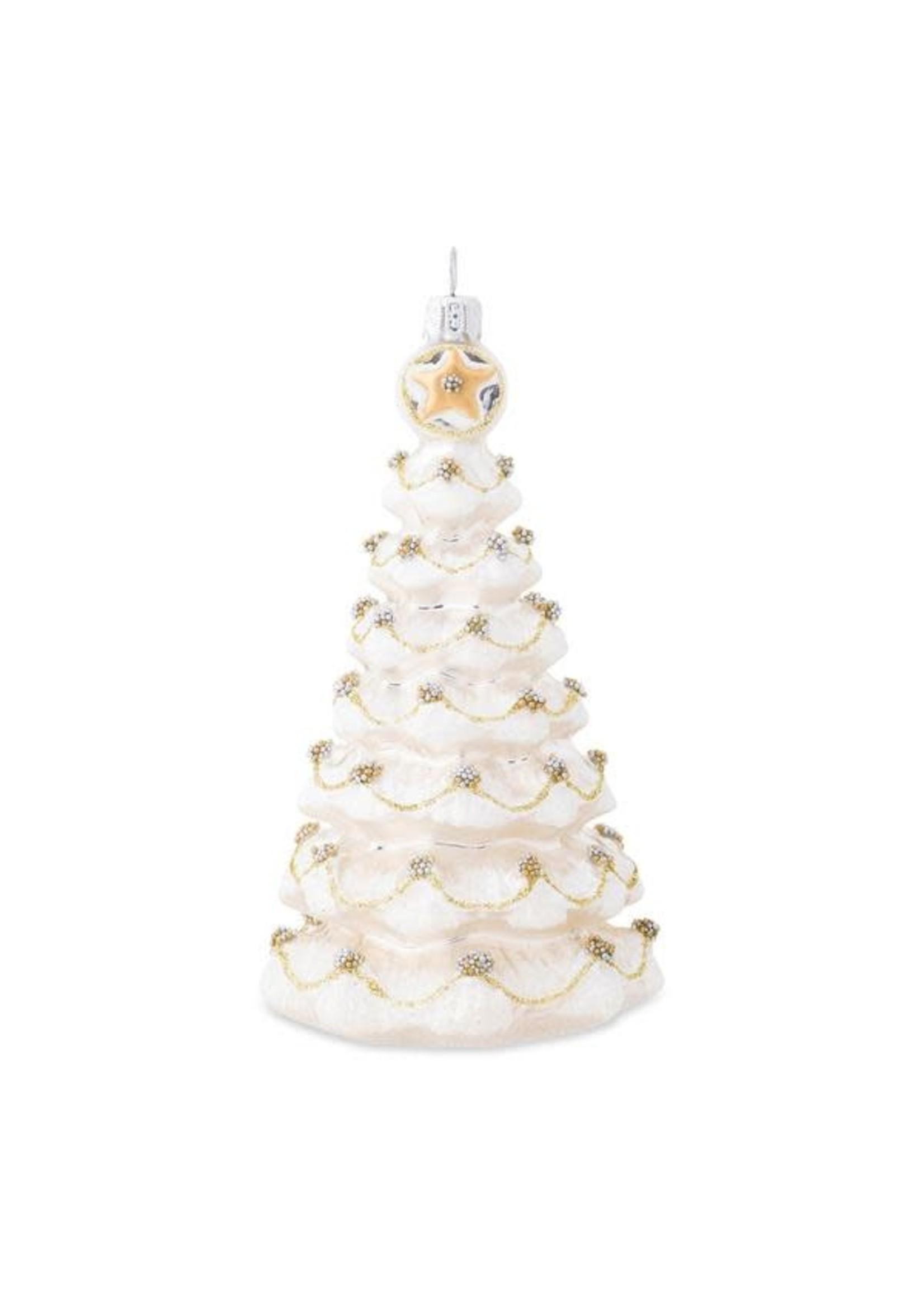 Juliska Ornament - Gold & Silver Tree