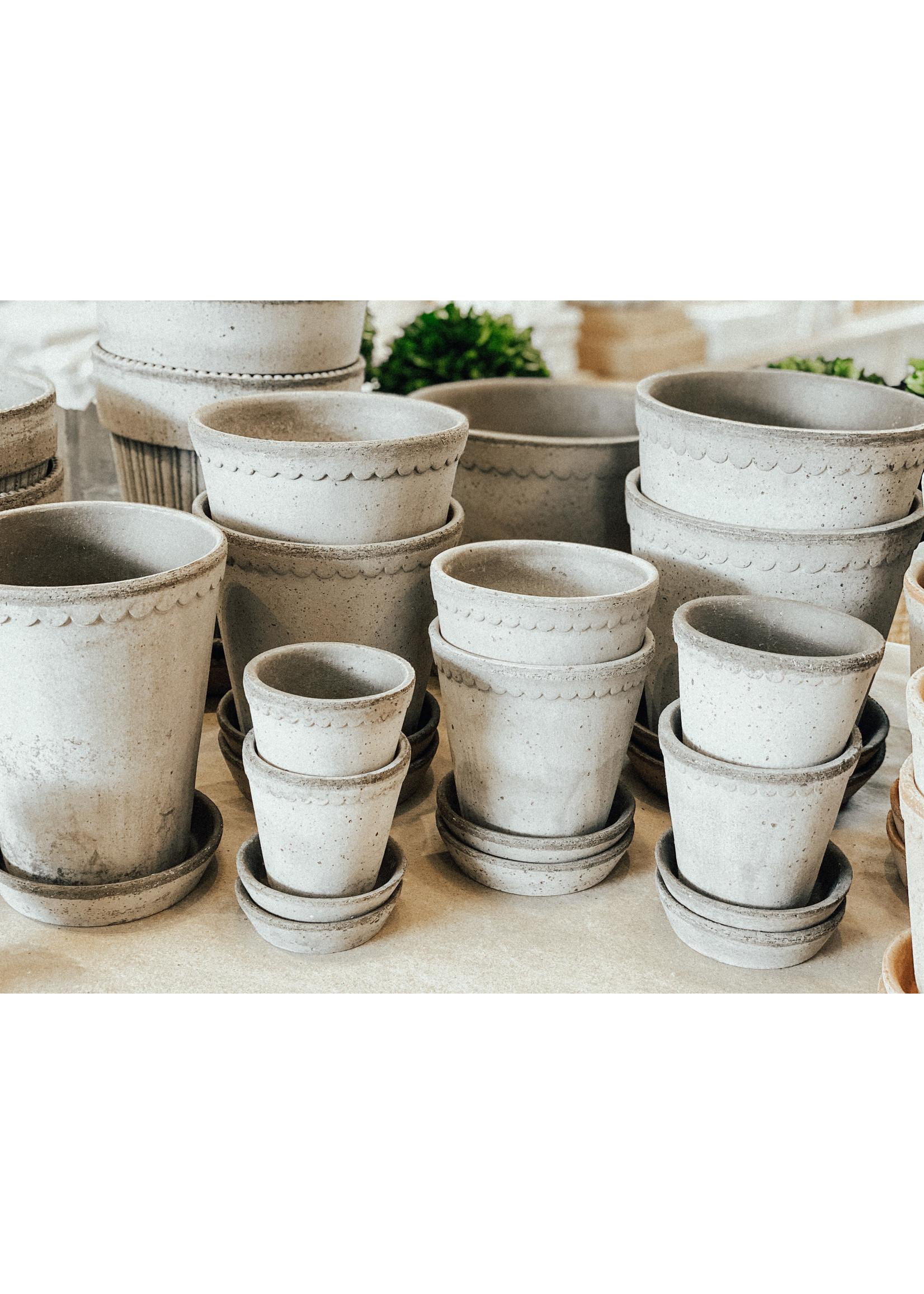 Bergs Potter Garden Pot Helena - Grey 10