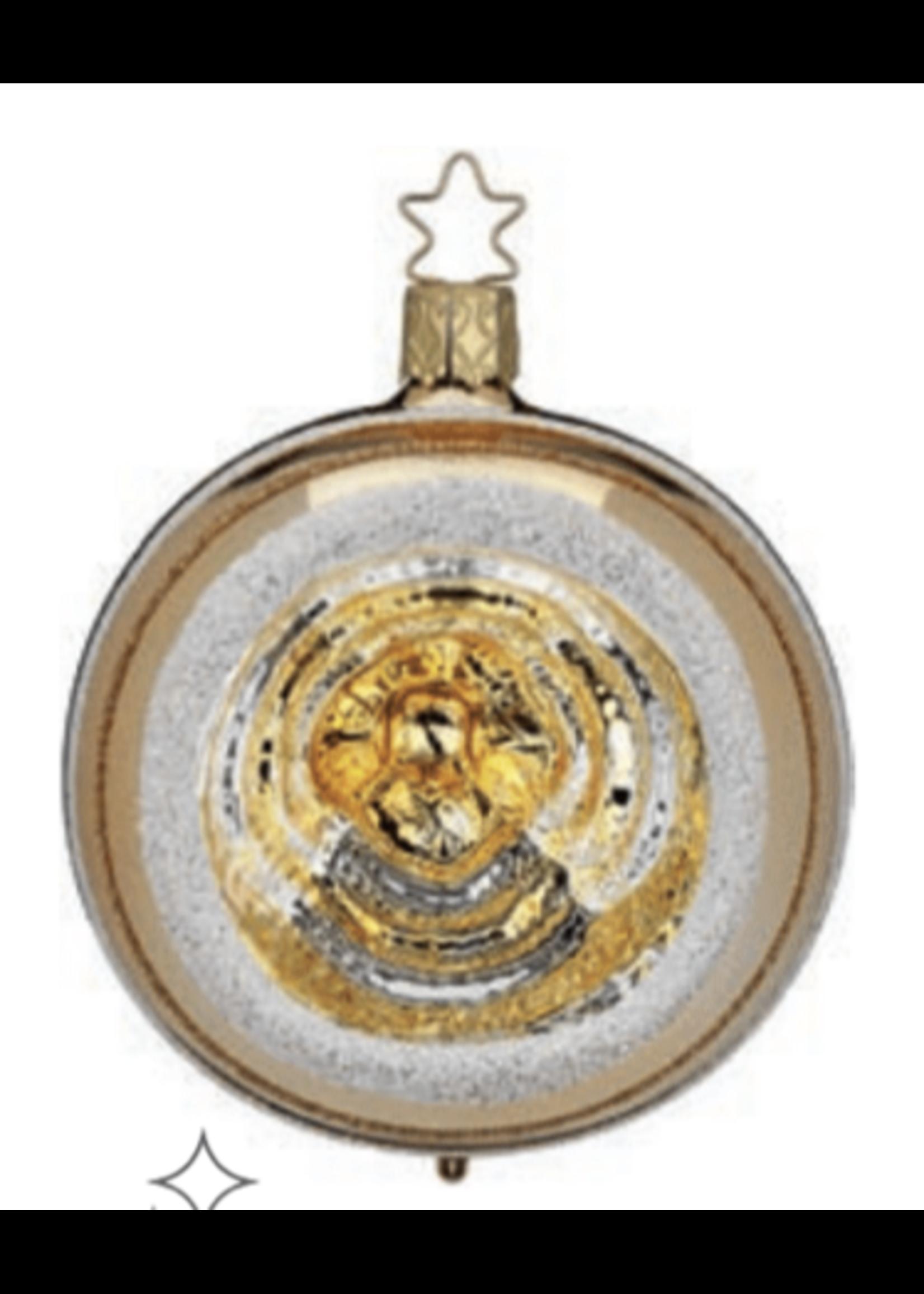 "Ornament - Inkagold Shiny Reflection 3.2"""