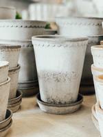 Bergs Potter Garden Pot Helena - Grey 14 *Rose Pot
