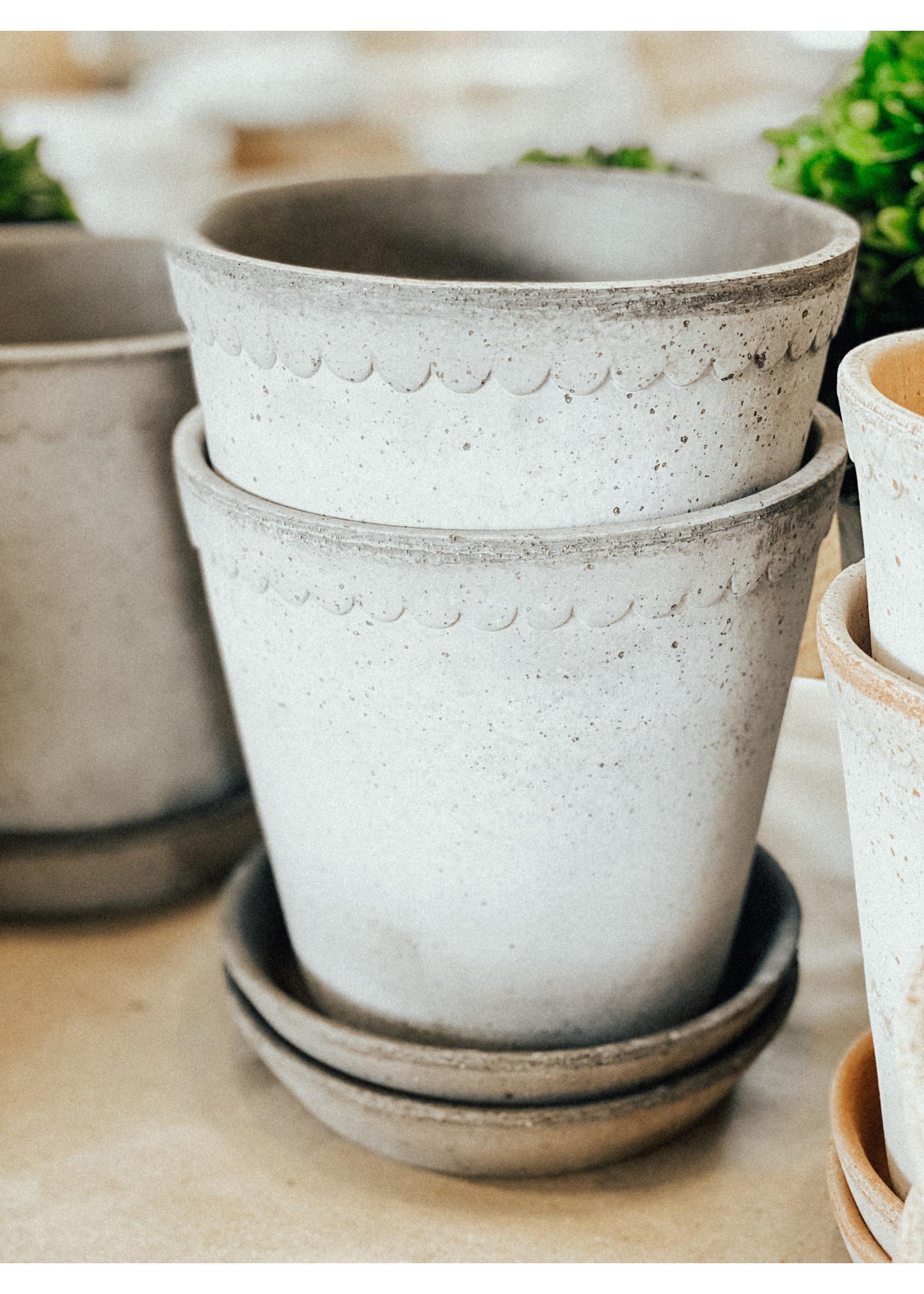 Bergs Potter Garden Pot Helena - Grey 18