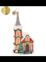Christopher Radko Ornament - The Charming Chapel