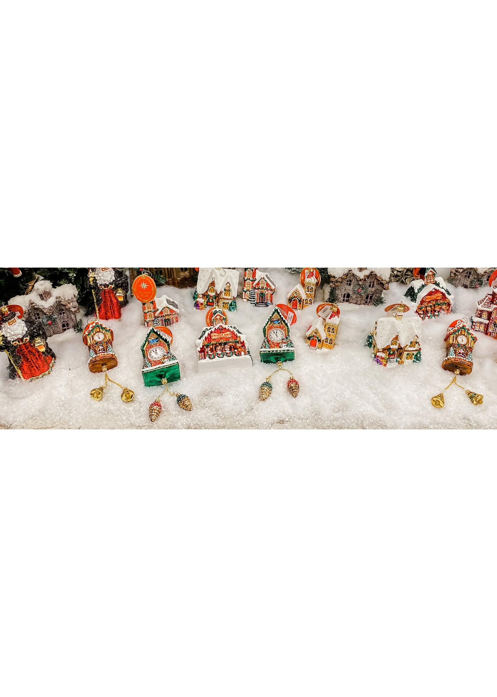 Christopher Radko Ornament - Ebony Clad Mr. Claus