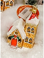 Christopher Radko Ornament - Stained Glass Christmas Mass