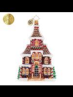 Christopher Radko Ornament - Grandeur in Ginger