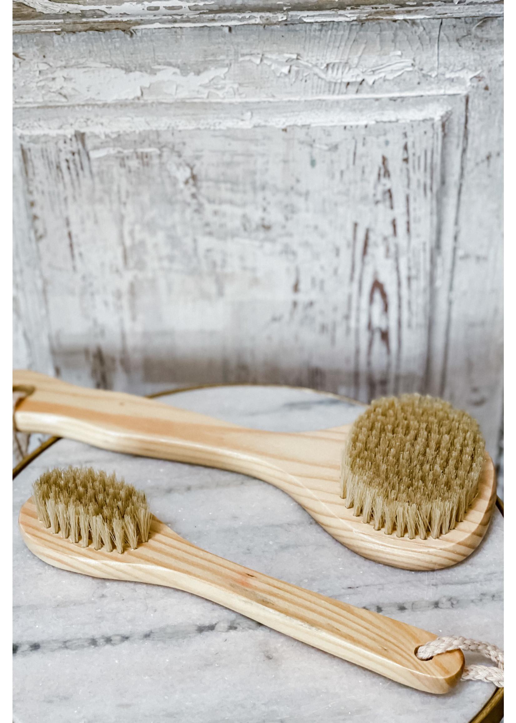 """Bath Brush - Cedar Brush 10"""""""