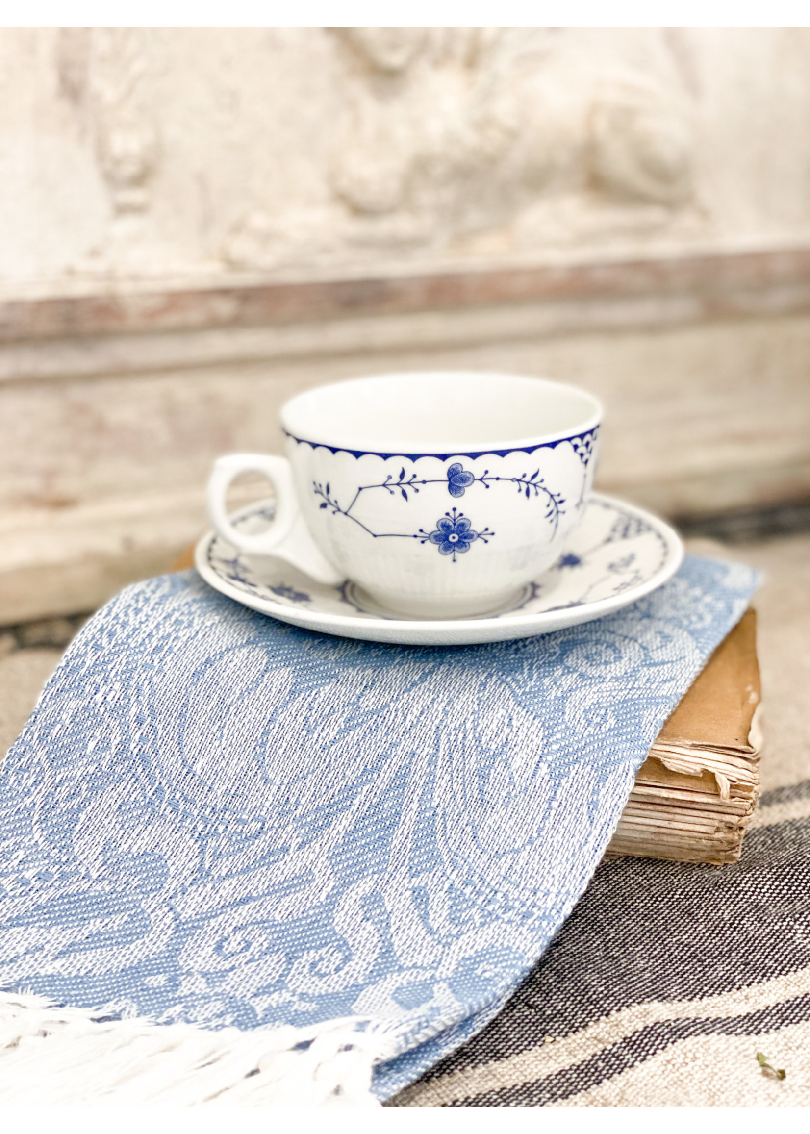 Denmark, Furnivale Limited Tea Cup & Saucer - Made in England