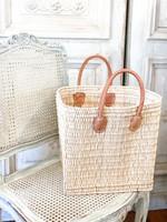 French Market Basket - Tatami Tote Basket Large