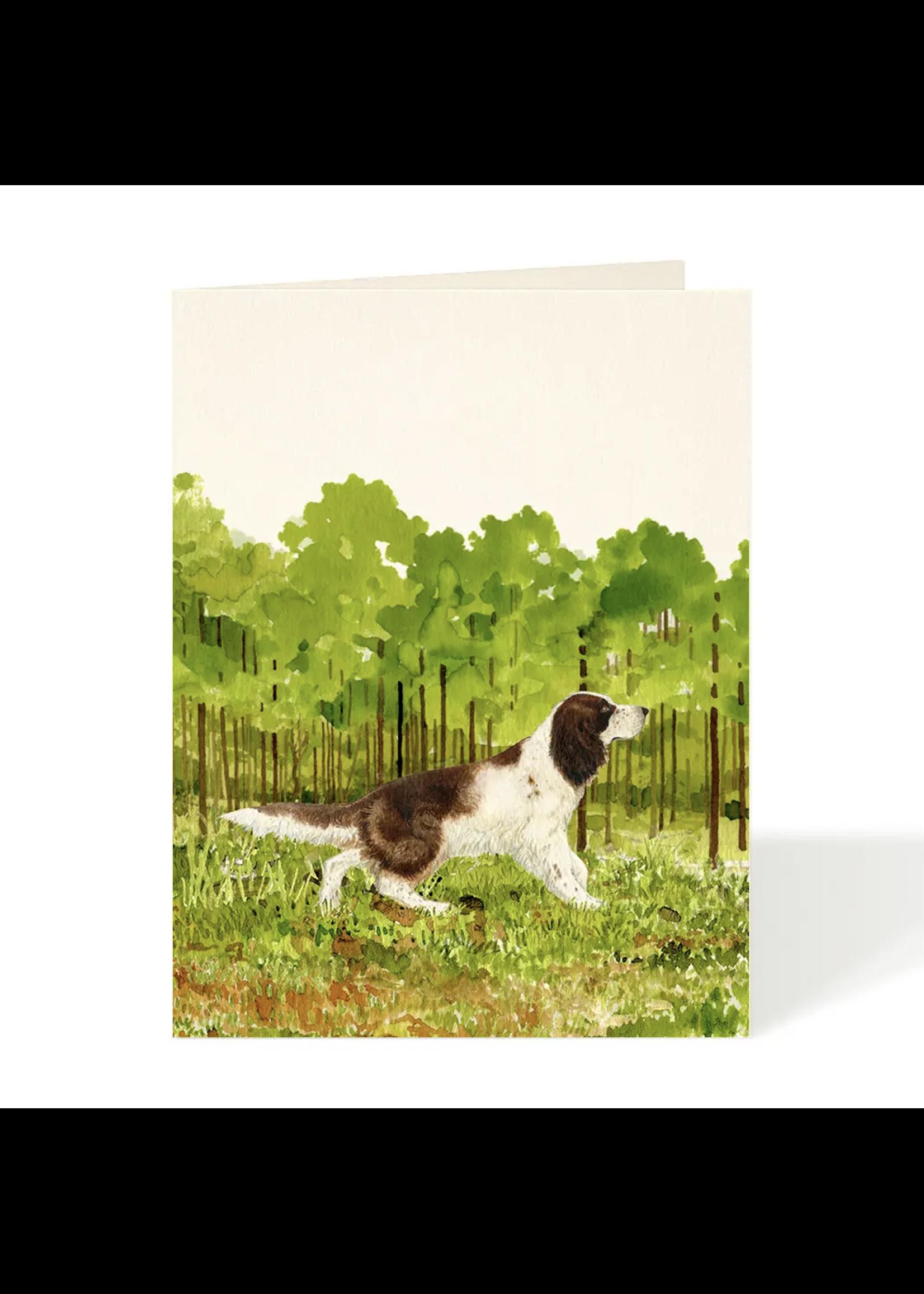 Card - English Springer Spaniel
